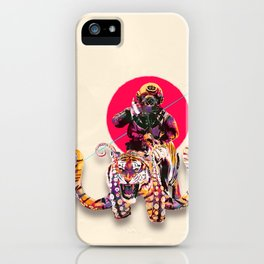 OCTOTIGER OF DOOM iPhone Case