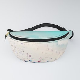 beach love III square Fanny Pack