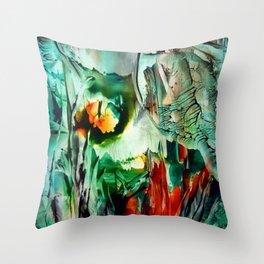BushFire Throw Pillow