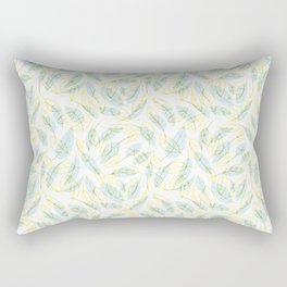 Wind and feathers Rectangular Pillow