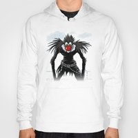 magritte Hoodies featuring Ryuk Magritte by le.duc