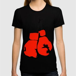 Hanging Boxing Gloves T-shirt