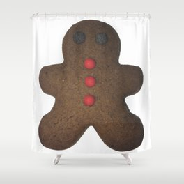 Gingerbread man Shower Curtain