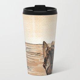 Coffee Art- Surf Travel Mug