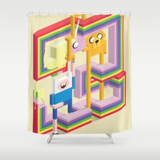 Mathematical! Shower Curtain