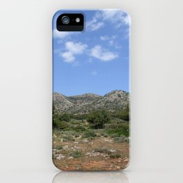 Mediterranean Landscape iPhone Case