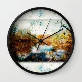 Mermaid on the Menominee Wall Clock