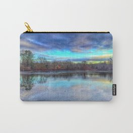 Winter at Caleb Smith Carry-All Pouch