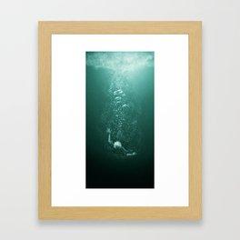 Drowning Framed Art Print