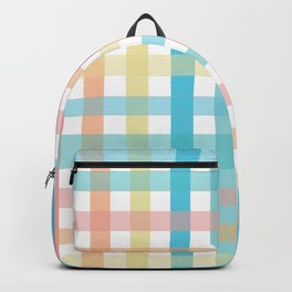 Plaid at the Beach Backpack