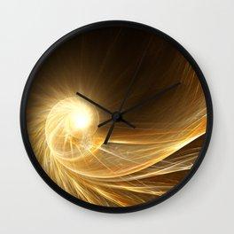 Golden Spiral Wall Clock