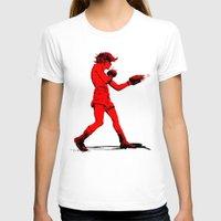 boxing T-shirts featuring Boxing 2 by Rachel E. Morris
