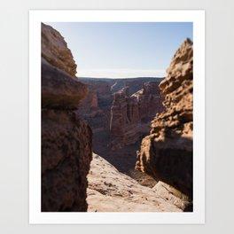 Desert Tower Art Print