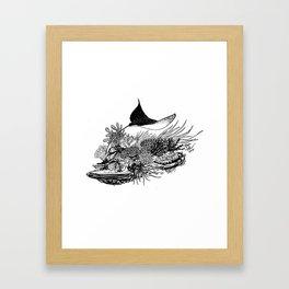 Eagle Ray Framed Art Print