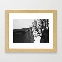 iceland. love. Framed Art Print