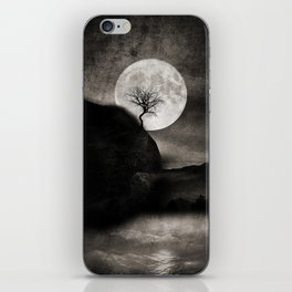 The Moon and the Tree.. iPhone Skin
