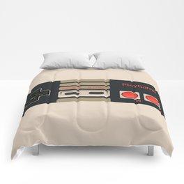 Retro Game Controller Comforters