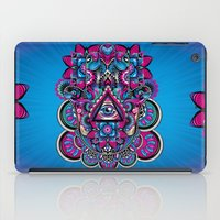 hamsa iPad Cases featuring HAMSA by Fly Design Studio
