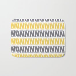 Tee Pee Primrose Yellow Bath Mat