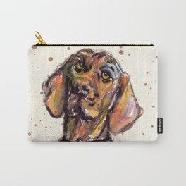 Hungarian Vizsla Dog Closeup Carry-All Pouch