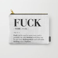 FUCK Carry-All Pouch