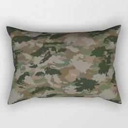 Camouflage Pattern  Rectangular Pillow