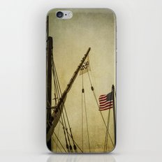 Sailing Flags iPhone & iPod Skin