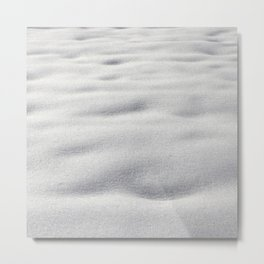 Texture #9 Snow Metal Print