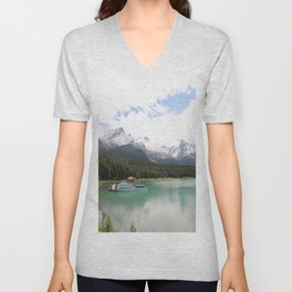 My Heart Goes Out To You Unisex V-Neck