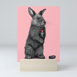 Rabbit Rouge Mini Art Print