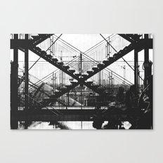 X-X Canvas Print