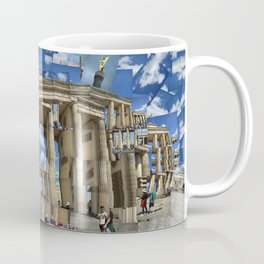 Brandenburg Gate - Photomontage Collage Coffee Mug