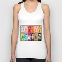 zodiac Tank Tops featuring Zodiac Collection by Sprat
