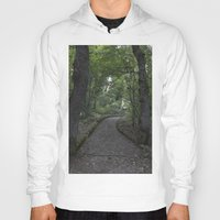 italian Hoodies featuring Italian forest by F130284