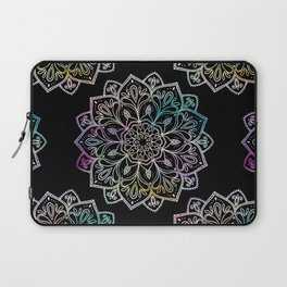 Scratchboard Mandala Laptop Sleeve