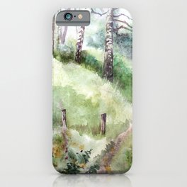 Mountain Landscape 04 iPhone Case