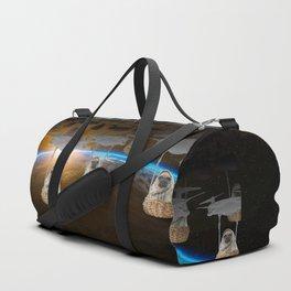 Pugvasion Alien Invasion Duffle Bag