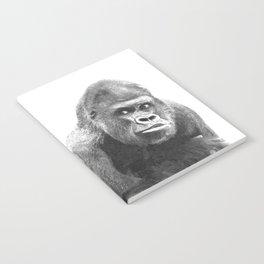 Black and White Gorilla Notebook