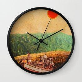 Eternal Noons Wall Clock