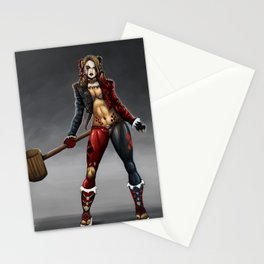 harleyquinn  Stationery Cards