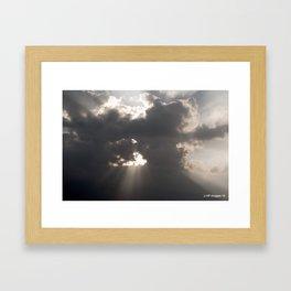another Maui sunset Framed Art Print