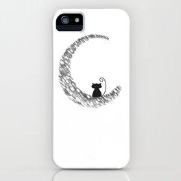 Mooncat iPhone Case