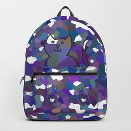 Crystal Cat - Blue Backpack