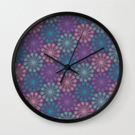 PAISLEYSCOPE peacock Wall Clock