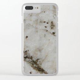 alabaster Clear iPhone Case