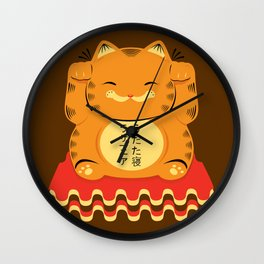 Lucky Garfield Wall Clock