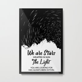 WE ARE STARS Metal Print