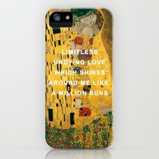 The Kiss Across the Universe Slim Case iPhone (5, 5s)