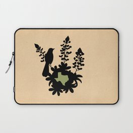 Texas - State Papercut Print Laptop Sleeve