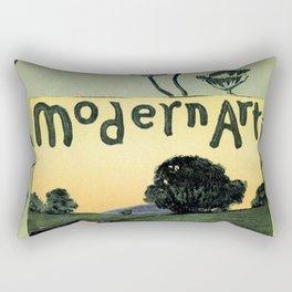 1895 Modern Art Arthur W. Dow Rectangular Pillow